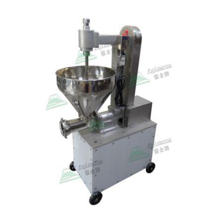 落地型絞肉兼半自動灌香腸機 2HP - 落地香腸機產能:450kg/hr