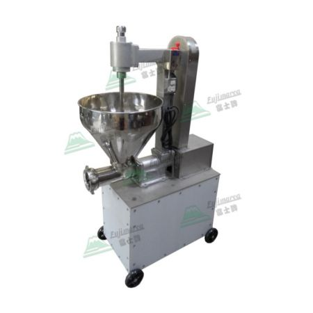 Sausage Filler and Meat Grinder with Large Food Tray - 400 kg/hr Sausage Maker