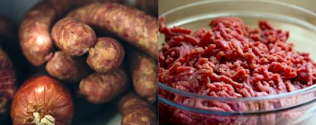 Remplisseur de saucisses et mineur de viande