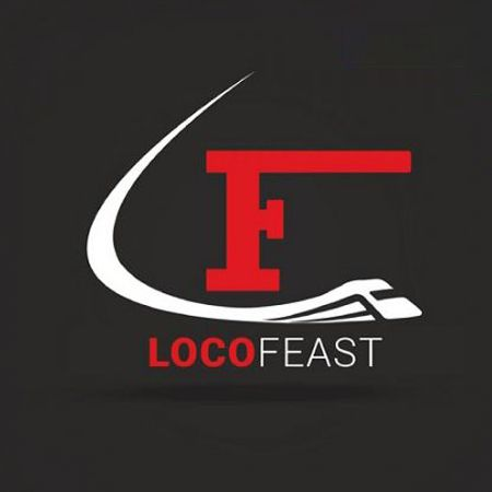 Indonesia Locofeast Bullet train & Formula1 resturant (Food Delivery System) - The bullet train delivery system in India Resturant.