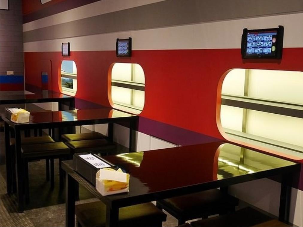 Restaurante de fideos ramen automático