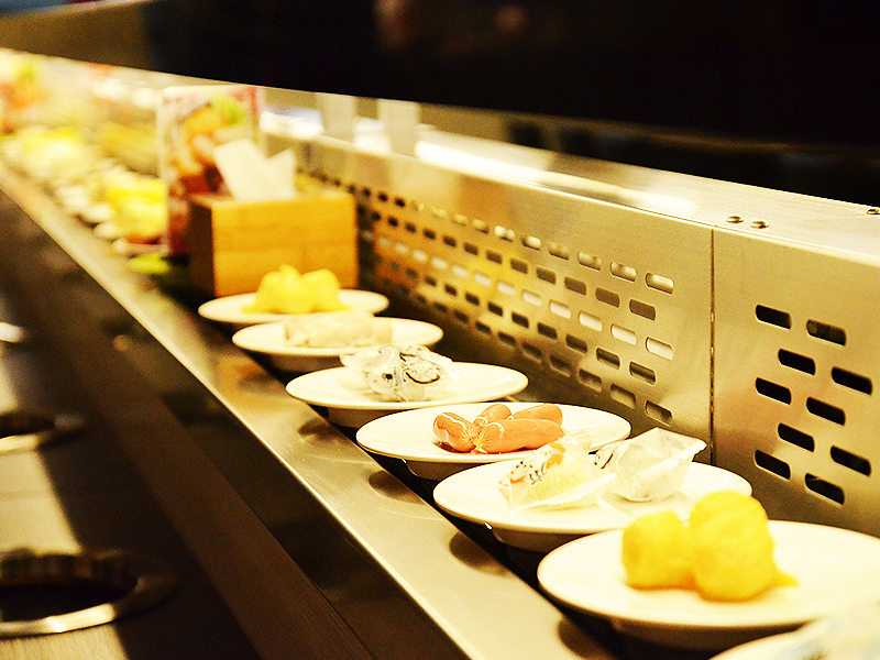 Automatisk kylskåp Rotary Hot Pot Restaurant
