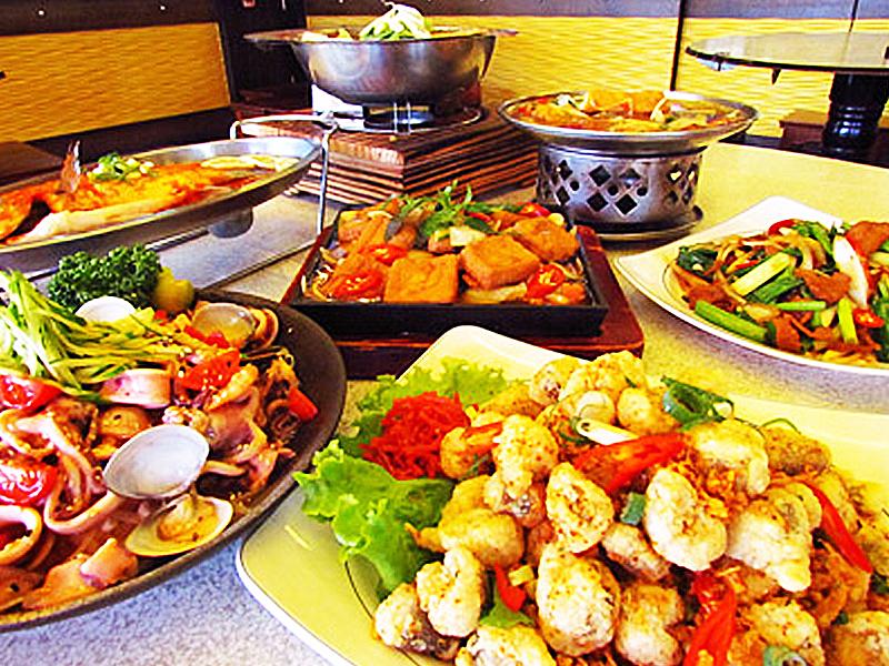 Awtomatikong seafood stir-Fry shop
