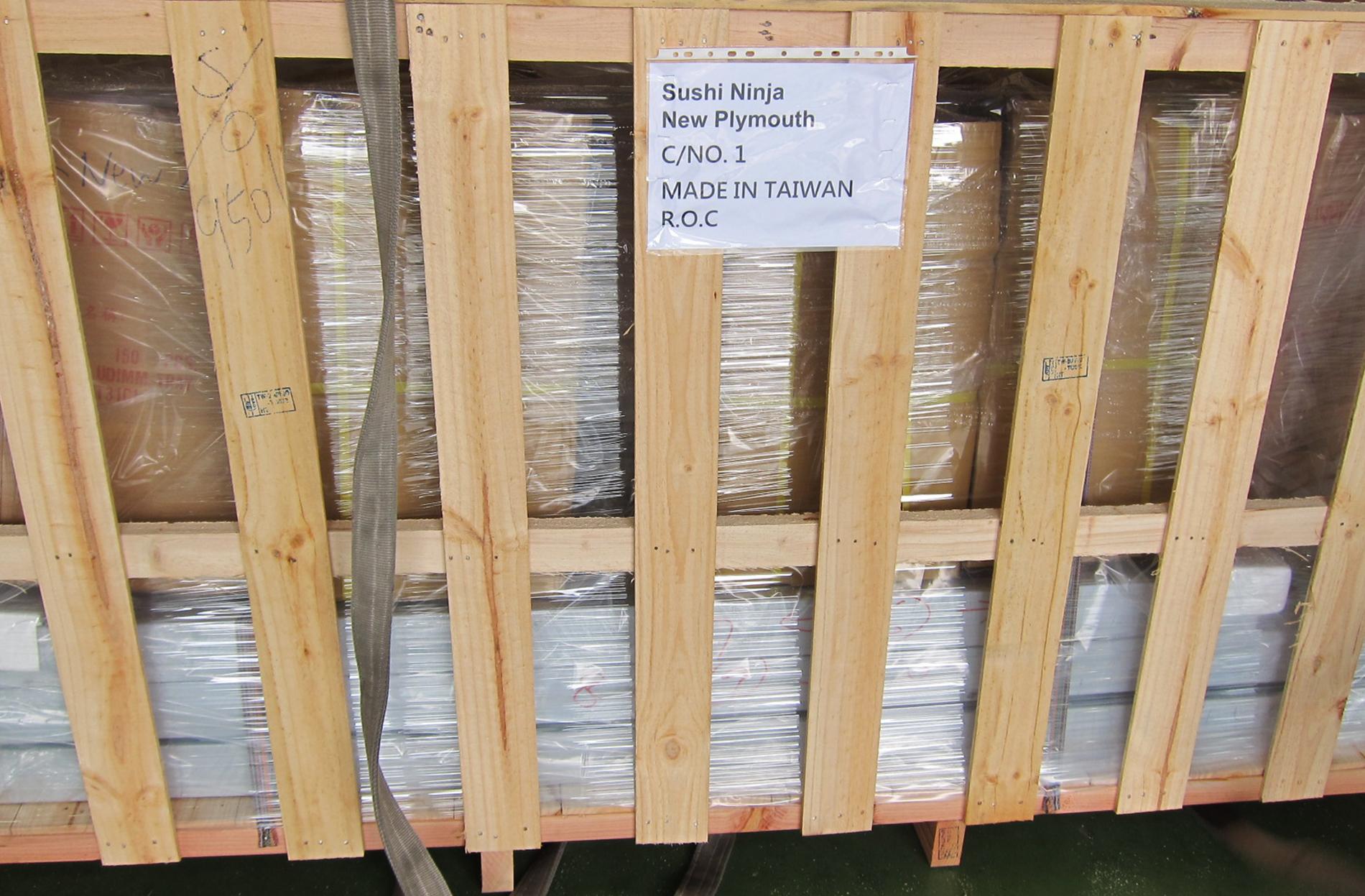 New Zealand-Sushi Ninja Shipment process