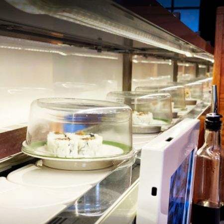 Akarii revolving sushi conveyor belt and sushi train