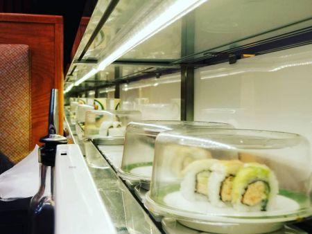 Akarii revolving sushi conveyor belt and sushi train