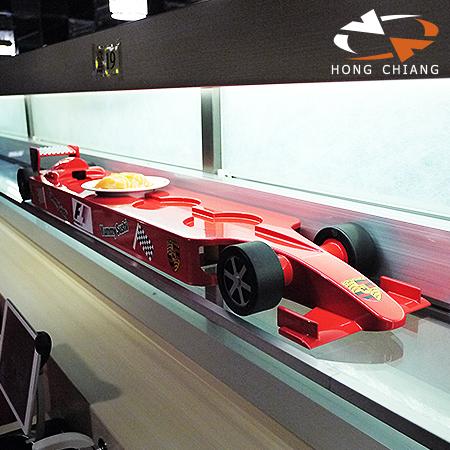 النمذجة المرجعية - سيارة تسليم سباقات السرعة