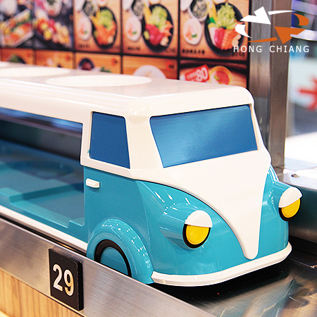 Classic and Vintage Bus (Case Reference) - Automatic Tray Serving Delivery Lane