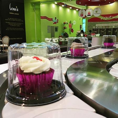 Customer Case Studies - Hassan Nasser cupcake(Chain Sushi Conveyor Belt)