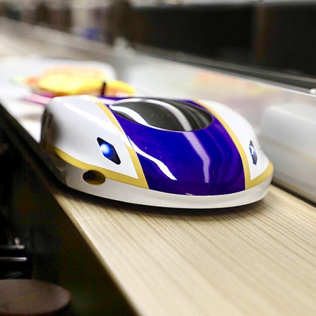 Automated Express Food Delivery System - Food Delivery System_Bullet Train Style