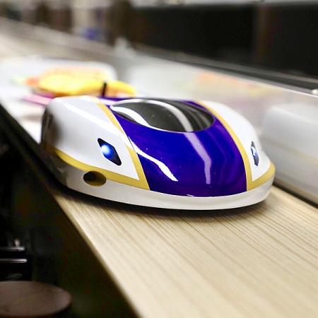 Système de train de livraison - Système de livraison de nourriture_Style de train à grande vitesse
