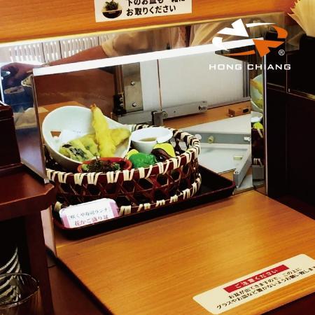 Express Food Delivery Conveyor Belt - Automatisches Tablett, das die Lieferspur bedient