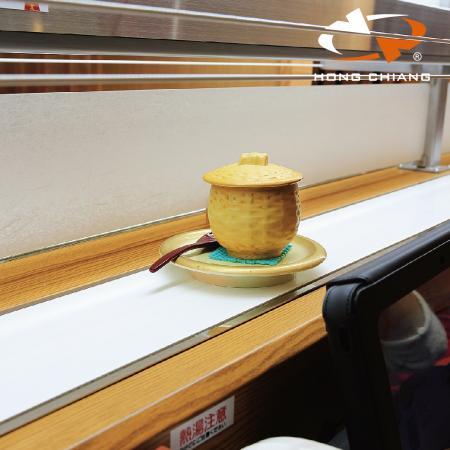 Ekspreslevering af fødevarer Transportbånd-Express madleveringsbane