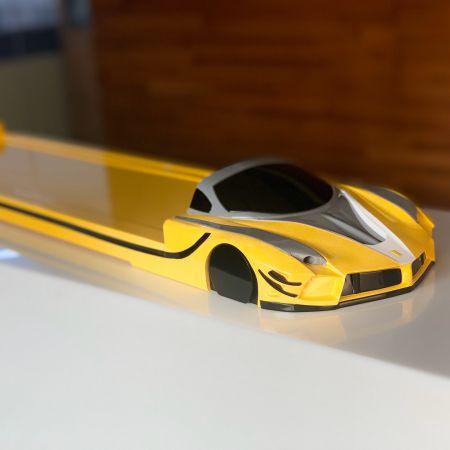 System dostarczania pociągu pociskowego - Ferrari