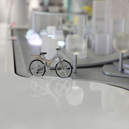 Disc Display Conveyor- Cycling Culture Museum