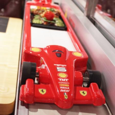 INDIA'S FIRST BULLET TRAIN AND FORMULA 1 THEME RESTAURANT.