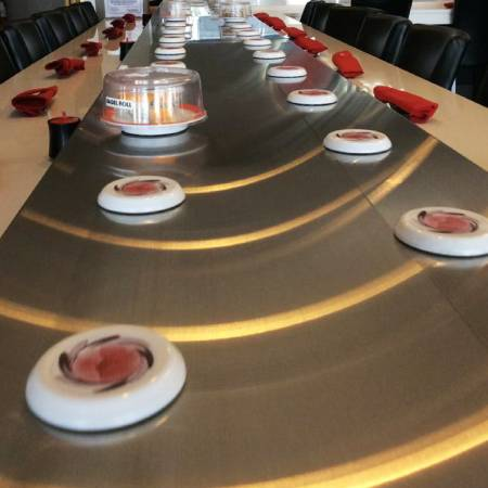 Stainless Steel Magnetic Induction Sushi Conveyor