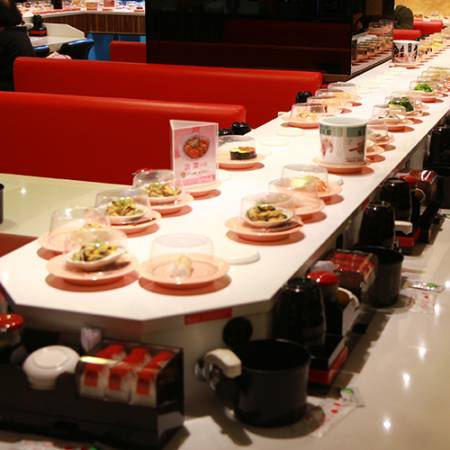 Typ Referenz-Stone Magnetic Induction Sushi Conveyor - Sushi-Förderer mit magnetischer Steininduktion