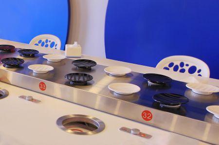 Trasportatore magnetico in acciaio inossidabile