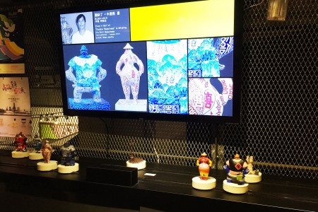 Disc Display Conveyor uses in exhibition(Taiwan-The Pier-2 Art Center)