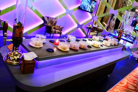 Stone Magnetic Induction Sushi Conveyor(Saudi Arabia)