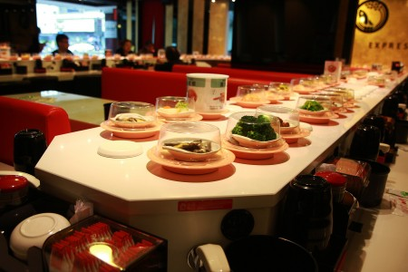 Stone Magnetic Induction Sushi Conveyor(Taiwan)