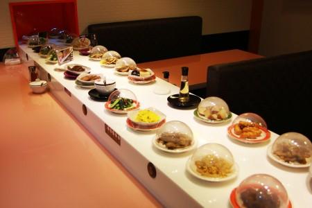 Stone Magnetic Induction Sushi Conveyor details
