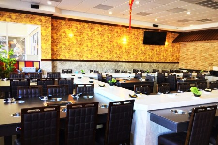 Hot Pot Restaurant uses Stone Magnetic Induction Conveyor in UAS