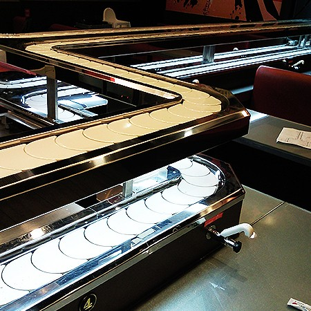 Type reference-Sushi Chain Conveyor Double Deck Styles