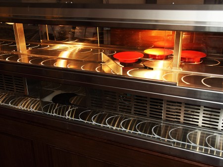 Sushi Chain Conveyor Hot & Cold System details