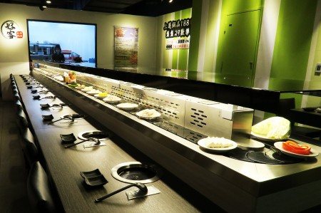 Sushi Chain Conveyor Single Deck Styles(Taiwan)