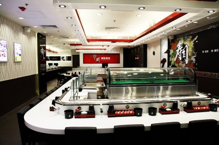 Sushi Chain Conveyor Single Deck Styles(Hong Kong)