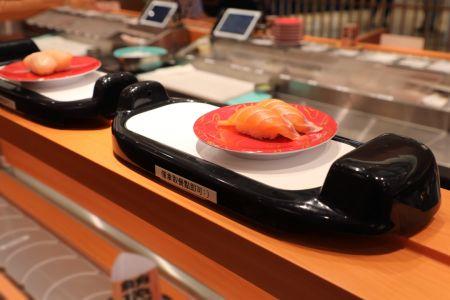 Mobil Putar Ekspres sushi shinkansen Sistem