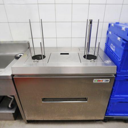 Plaatwasmachine (HDW-01) - Borden Wasmachine