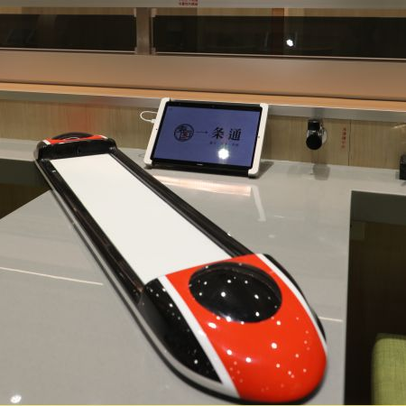 Yitiaotong automated food delivery train