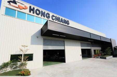 Hongjiang Technology Company의 게이트 모습