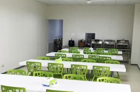 台湾鴻匠科技会社のスタッフレストラン