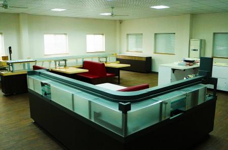 Hongjiang 기술 회사의 전시실