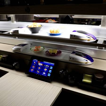 Chunan Sushi& Automated Delivery System.