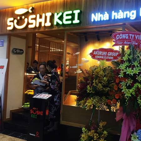 SUSHI KEI&Automated Delivery System.