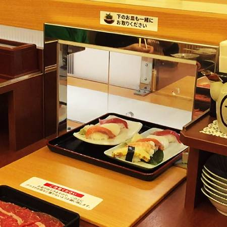 Automatic Tray Serving Delivery Lane