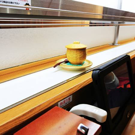 The High Speed Sushi Train combine with the Express  Kintarosumoto Sushi.