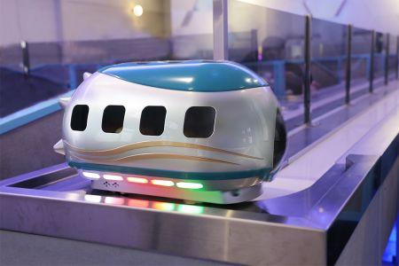 轨道送餐机器人正式贩售踏入市场