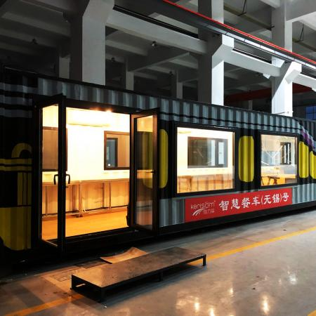 Kerisom China container house & Automated Delivery System.