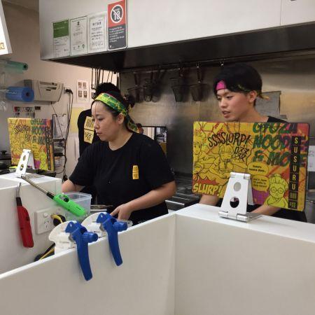 Susuru with Tablet ordering system