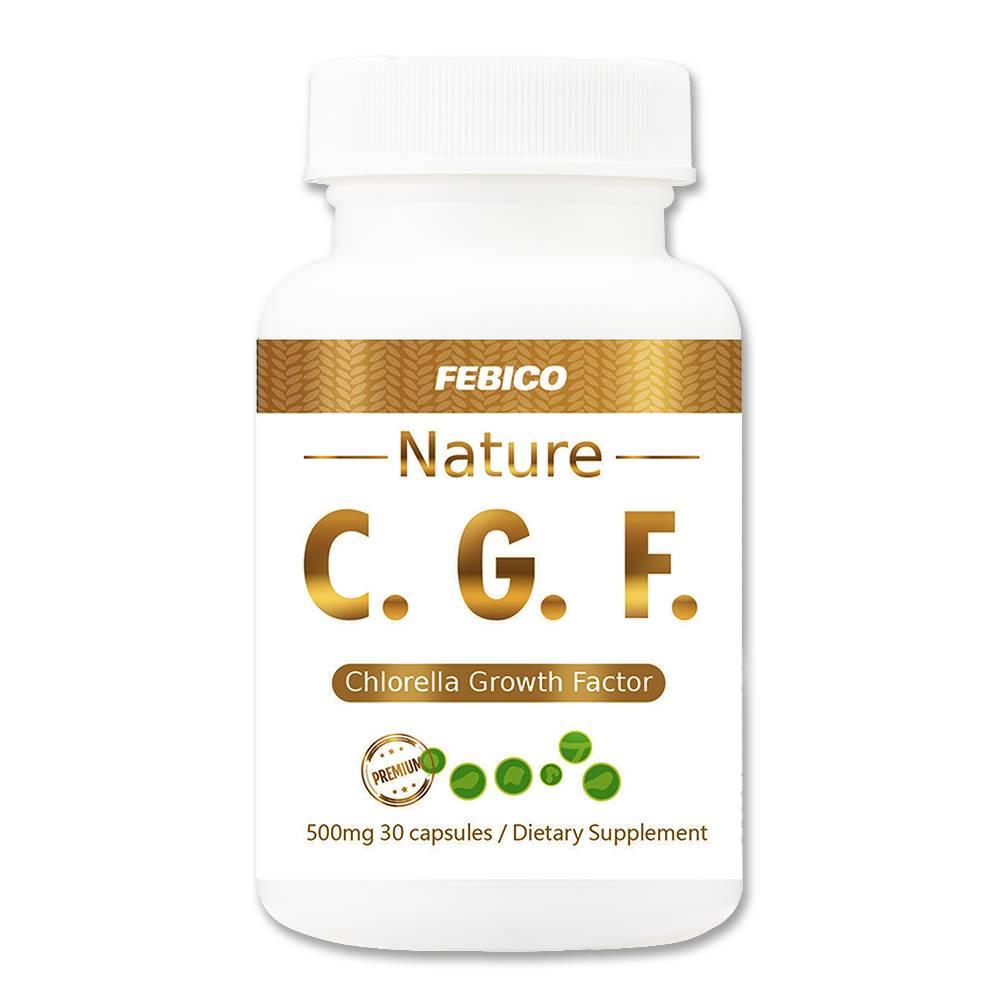 Capsule CGF ( clorella Fattore di crescita) - clorella Capsule del fattore di crescita