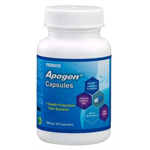 Cápsulas Apogen ® - Cápsulas Apogen ®