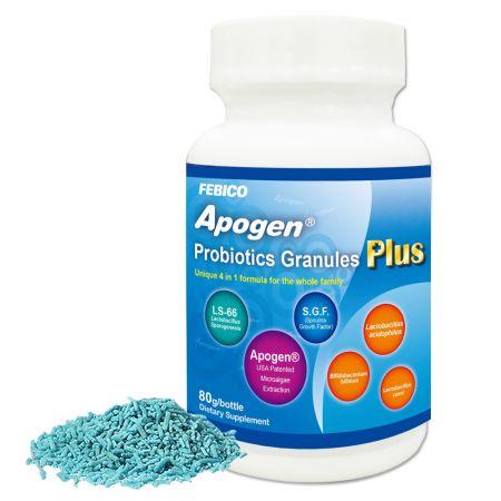 Apogen® Lactobacillus Sporogenes Probiotici Più - Spirulina insieme a Probiotici