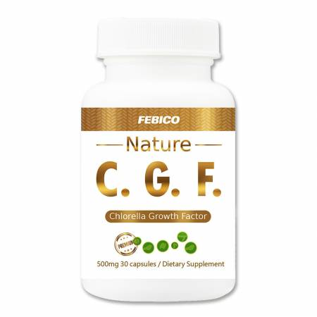 CGF Capsules (Chlorella Growth Factor) - Chlorella Growth Factor Capsules