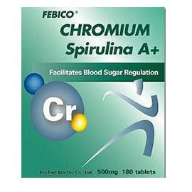 Febico Spirulina chromu - Spirulina chromu
